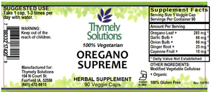 Oregano Supreme 90C