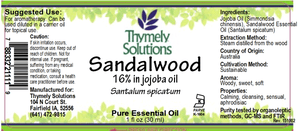 EO Sandalwood 1oz