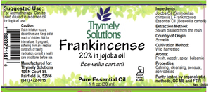 EO Frankincense 1oz