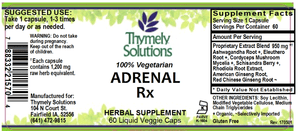 Adrenal Rx 60LC