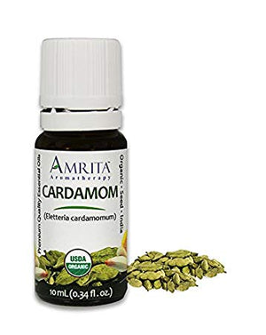 Organic Cardamon Essential Oil