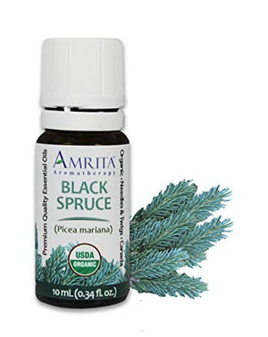 Organic Black Spruce Essential Oil
