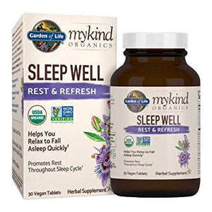 MyKind Herbal Sleep Well 30 Tablets