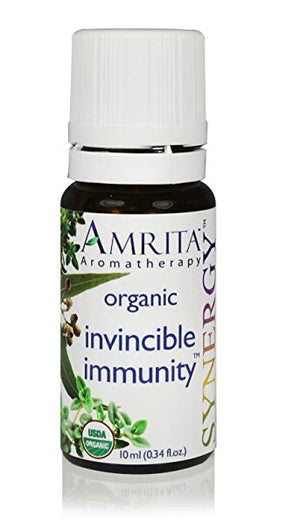 Organic Synergy Invincible Immunity Essential Oil