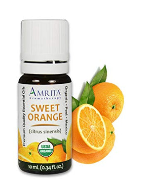 Organic Sweet Orange Mexico Essential Oil