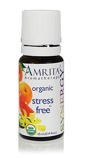 Organic Synergy Stress Free Essential Oil