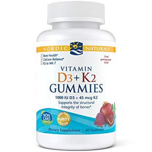 Vitamin D3 & K2 Gummies 60CT