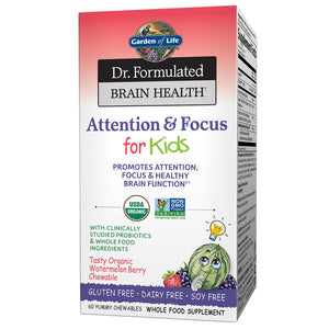 Dr. Formulated Attention & Focus for Kids