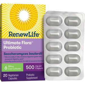 Renew Life Ultimate Probiotics Sacchymyces Bout 20