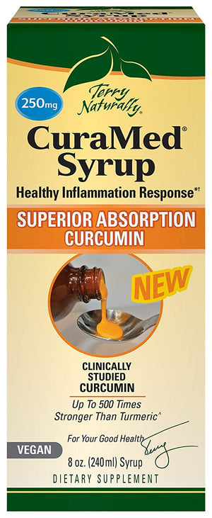 Curamed Syrup 250 Mg 8 Oz