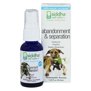 Flower Essences Abandonment and Separation Spray for Pets
