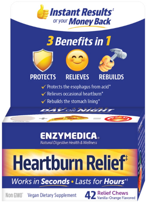 Heartburn Relief Chews 42CT