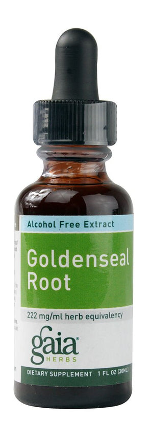 Goldenseal Root Alcohol Free 1 Oz