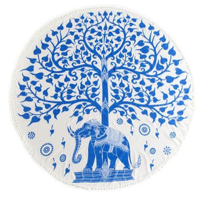 Tree of Life Round Beach Blanket