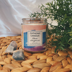 Chthonic Candles Clove Tangerine 4oz