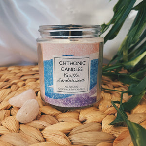 Chthonic Candles Vanilla Sandalwood 4oz