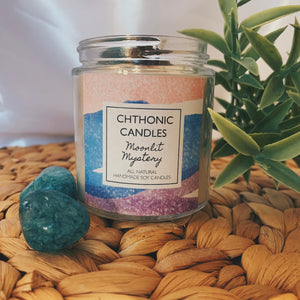 Chthonic Candles Moonlit Mystery 4oz
