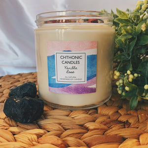 Chthonic Candles Vanilla Rose 16oz
