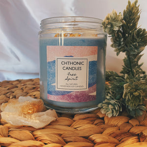 Chthonic Candles Free Spirit 8oz