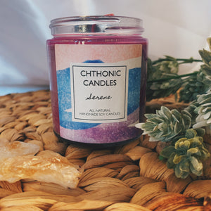 Chthonic Candles Serene 4oz