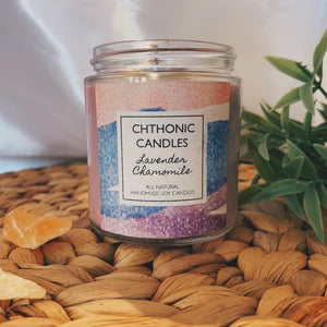 Chthonic Candles Lavender Chamomile 4oz