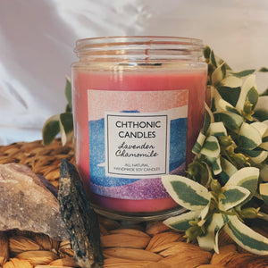 Chthonic Candles Lavender Chamomile 8oz