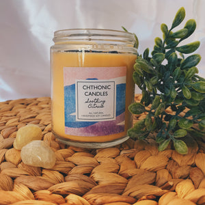 Chthonic Candles Soothing Citrus 8oz