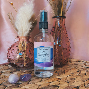 Chthonic Co. Lavender Sage Crystal Moon Energy Clearing Spray 4oz