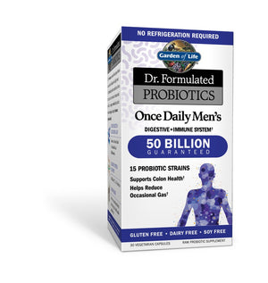 Dr. Formulated Probiotics Once Daily Men's Shelf Stable
