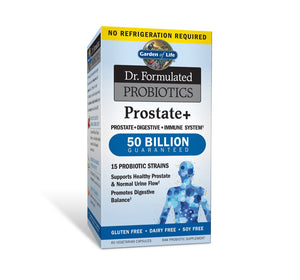 Dr. Formulated Probiotics Prostate+ Shelf Stable