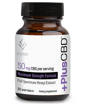 Plus CBD Oil Max Softgels 50mg 30ct