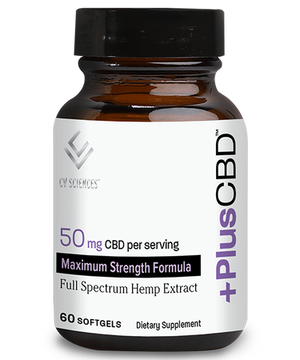 Plus CBD Oil Max Softgels 50mg 60ct