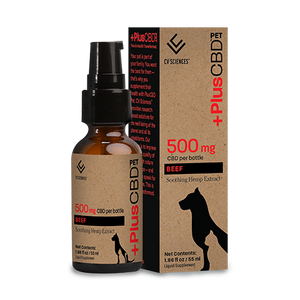 Pet CBD Beef 500mg 1.86 Oz