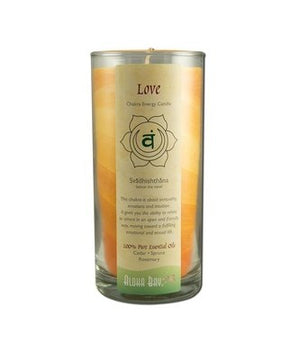 Love Energy Chakra Candle