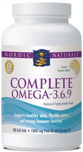 Complete Omega 3 6 9 60 Softgels Thymely Solutions