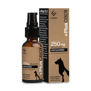 Pet CBD 250mg Unflavored 1oz