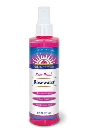 Rosewater 4 Oz