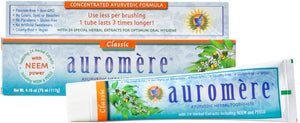 Auromere Classic Licorice Toothpaste 4oz