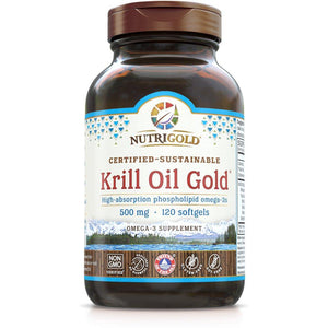 Krill Oil Gold 500mg 120sg