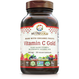 Whole-Food Vitamin C Gold 240mg 60vc