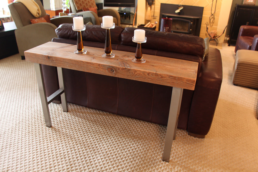 large side/sofa table – out of the woods