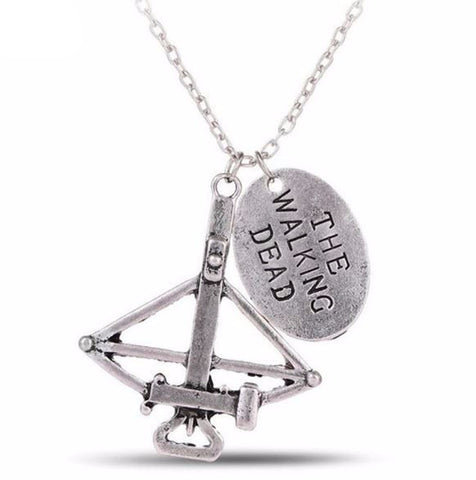 The Walking Dead Crossbow necklace, unisex