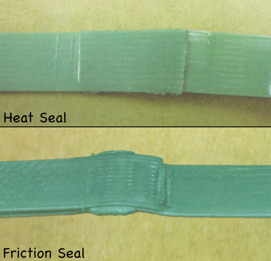 Poly Strapping Sealless Weld Joints Heat Seal Vs