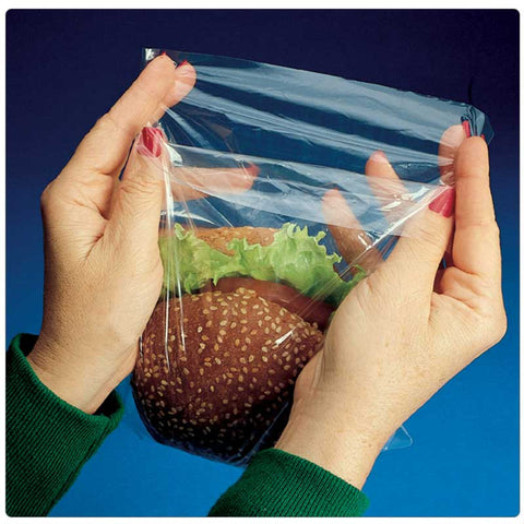 Flip-Top Saddle Pack Sandwich And Cookie Bags Printed And Plain