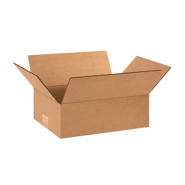 Corrugated Box Regular Slotted Carton 12 x 9 x 3