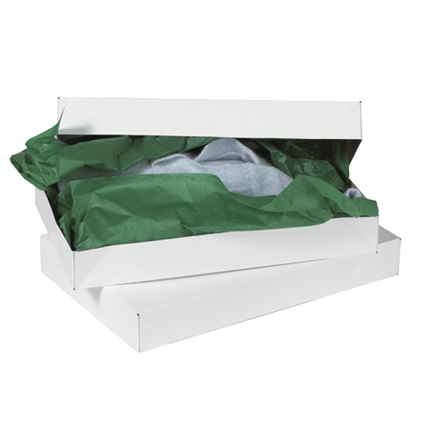 17 x 11 x 2 1/2 White Apparel Box