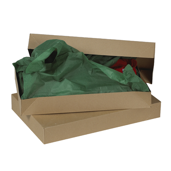 17 x 11 x 2 1/2 Kraft Apparel Box