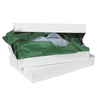 15 x 9 1/2 x 2 White Apparel Box