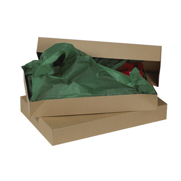 24 x 14 x 4 Kraft Apparel Box