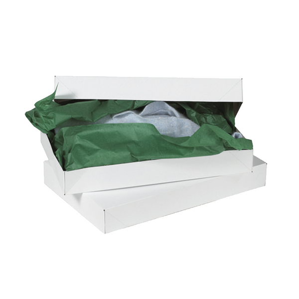 24 x 14 x 4 White Apparel Box